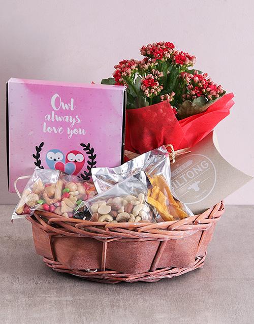 anniversary: Owl Always love you Snack Basket!