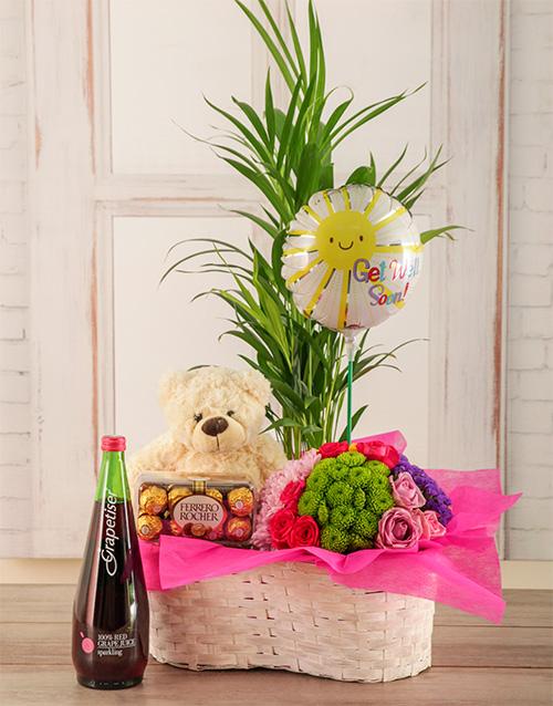 colour: Lift the Spirits Plants Basket!