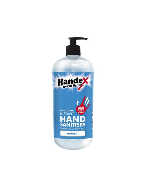 bath-and-body: Handex Hand Sanitizer Pump 1L, Natural!