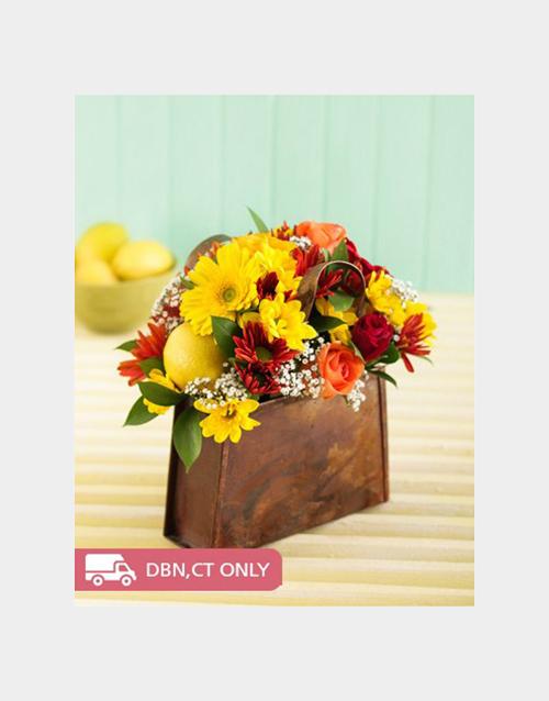 easter: Handbag of Flowers!