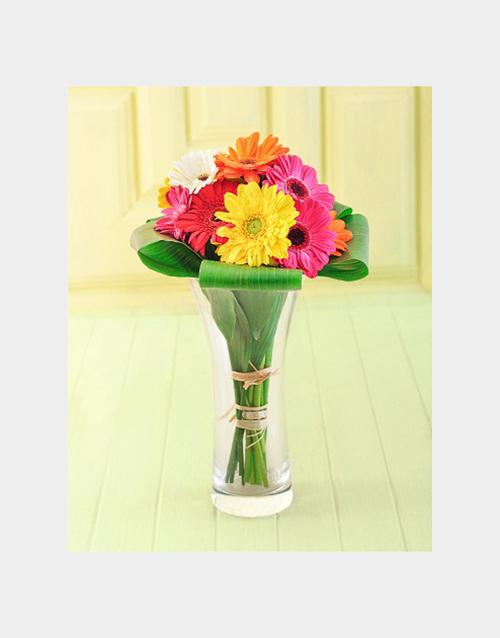 anniversary: Gerberas in a Vase!