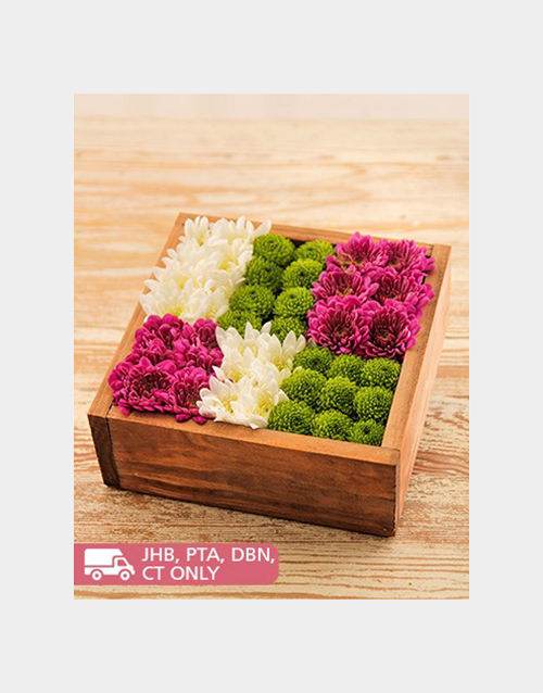 colour: Wooden Box of Sprays!