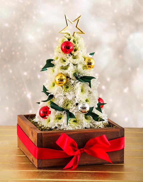 christmas: Flower Christmas Tree!