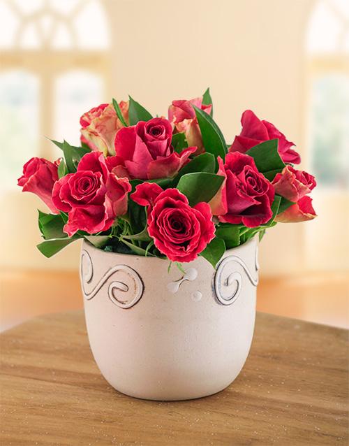 colour: Magical Rose Arrangement!