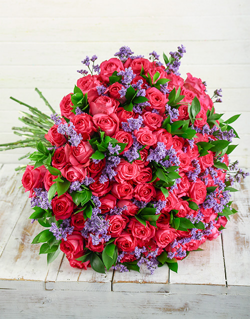 bouquets: Shades of Cerise Pink Bouquet!