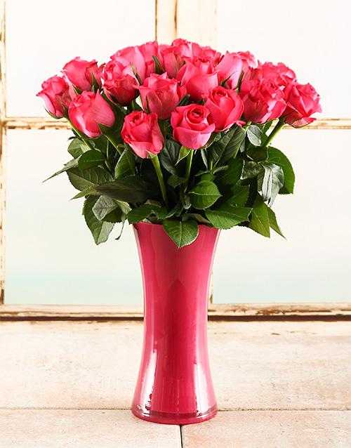 colour: Pink Inspiration Rose Vase!