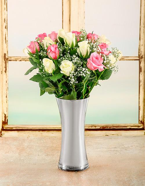 colour: A loving Embrace Rose Arrangement!