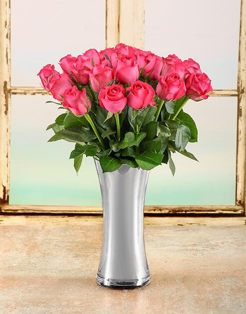 colour: Couture Pink Roses Arrangement!