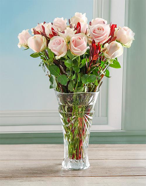 colour: Sweet Symphony Rose Crystal Vase!