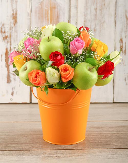colour: Orange Happiness Bucket!