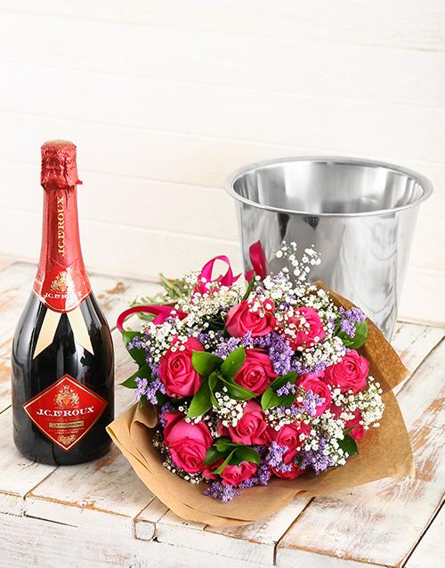 colour: Bubbles of Love Floral Arrangement!