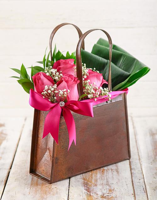 colour: Cerise Rose Handbag!