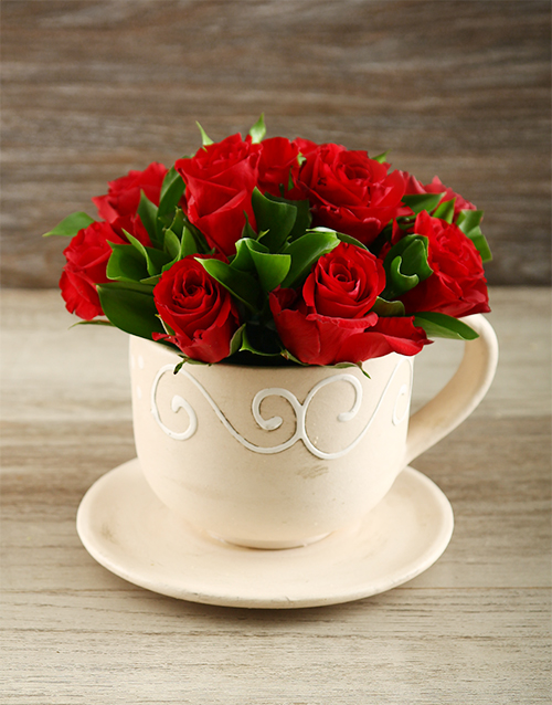 apology: Red Rose Tea Time!