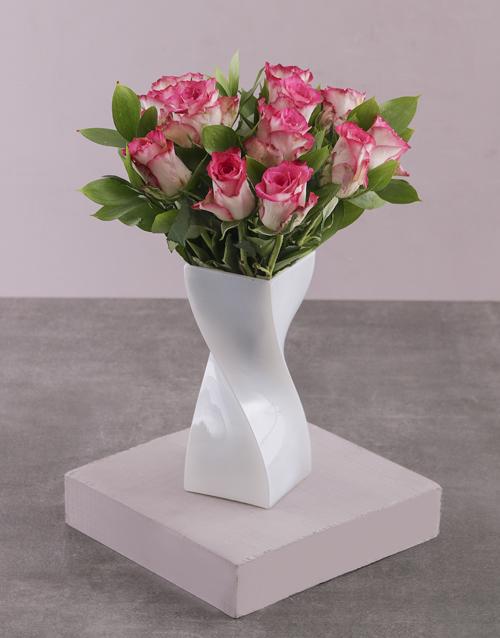 colour: Sweet Like Candy Rose Vase!