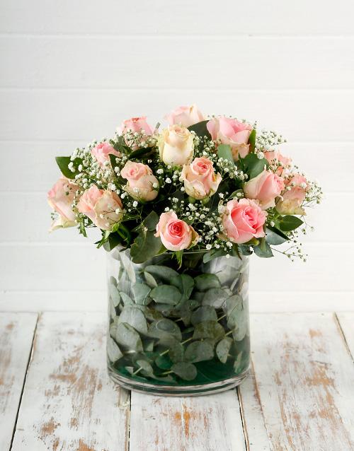 birthday: Mystical Pink Roses!