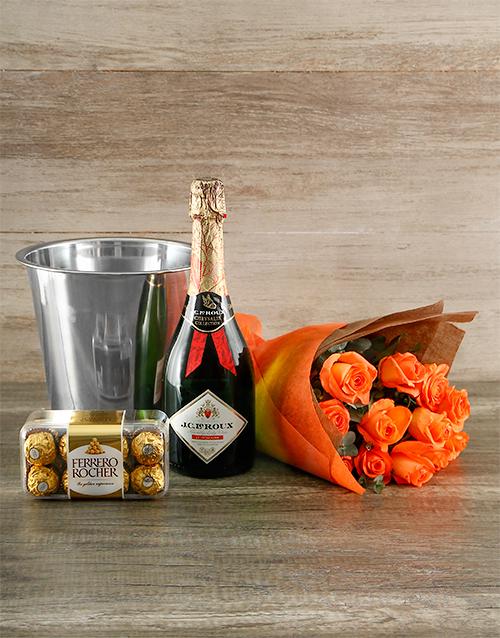 colour: Orange Passion Gift of Romance!