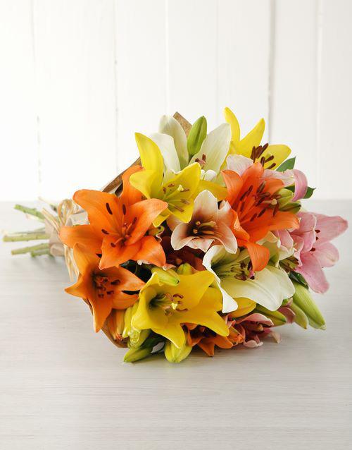 bouquets: Lily Love Bouquet!