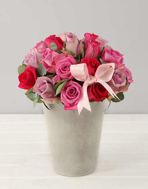 colour: Pink Rose Admiration Arrangement!