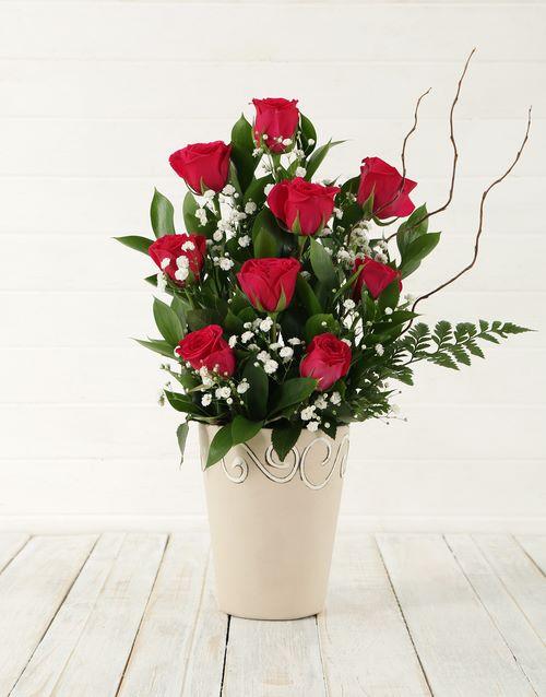 colour: Cerise Rose Pot!