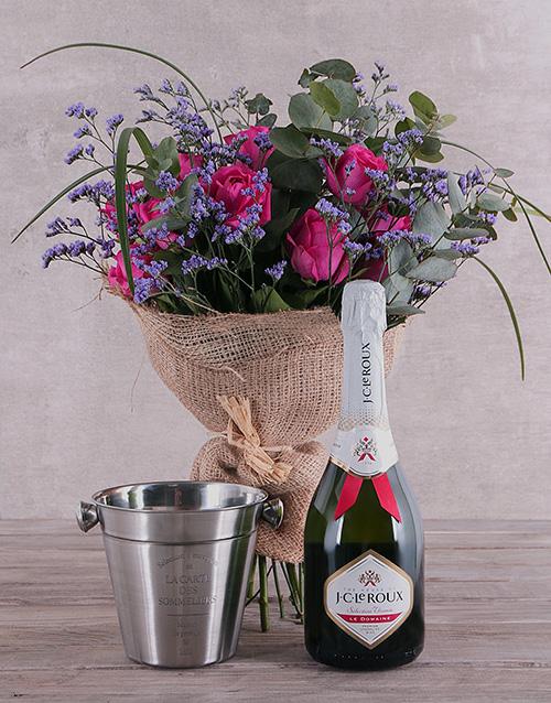 anniversary: Bliss Cerise Roses Combo!