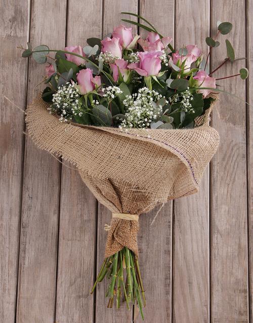 bouquets: Assorted Purple Rose Bouquet!