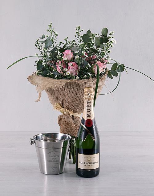 anniversary: Pink Rose Admiration Gift Set!