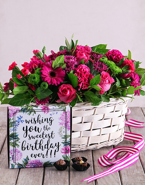 flowers: Floral Birthday Combo!