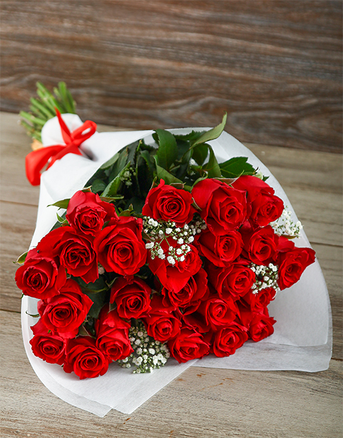 best-sellers: Romantic Red Rose Love Is Bouquet!