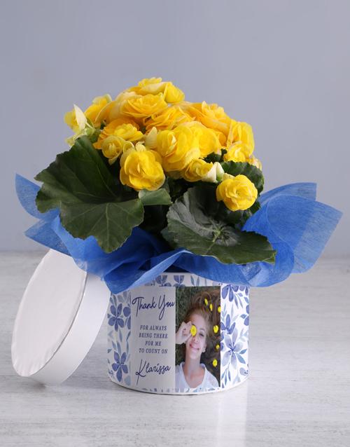 begonia: Personalised Begonia Thank You Box!