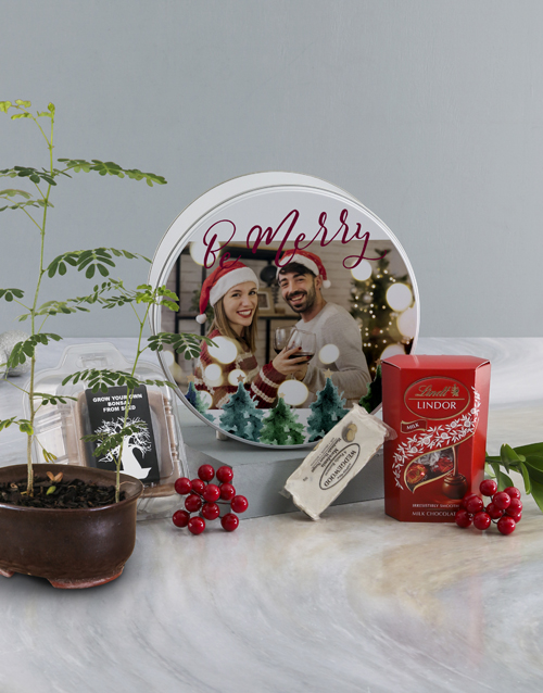 christmas: Be Merry Baobab Tree with Luscious Lindt!