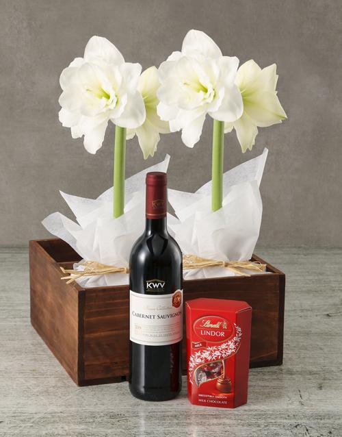 year-end: Blooming Amaryllis Hamper!