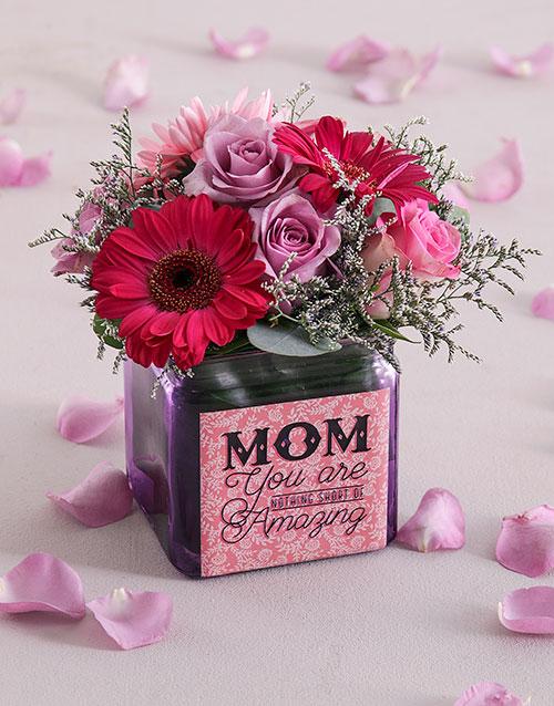 colour: Flowers for Mom!