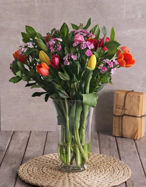 anniversary: Tremendous Tulips Arrangement!