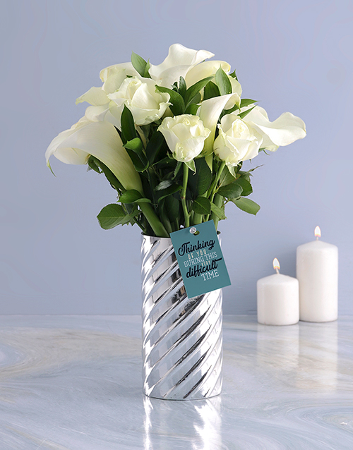 colour: White Lilies and Choc Combo!