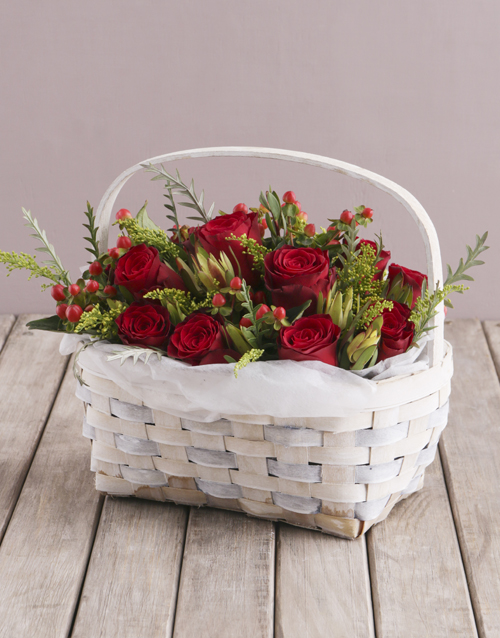 colour: Basket of Rose Love!