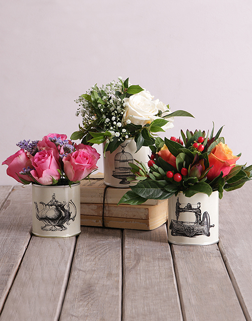 birthday: Roses in Classic Tins!
