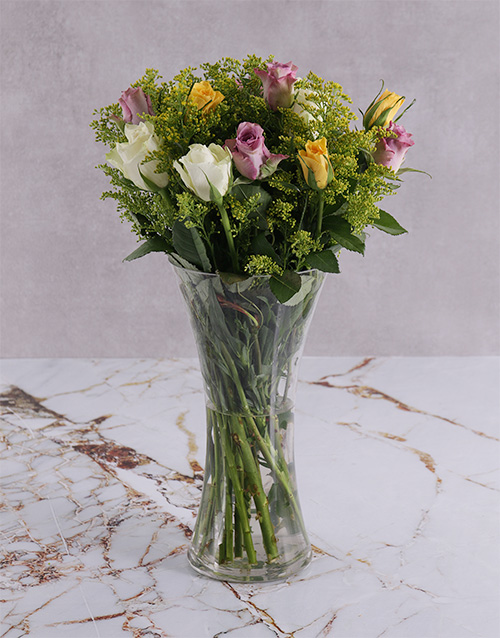 colour: A Flair of Floral and Mixed Roses!
