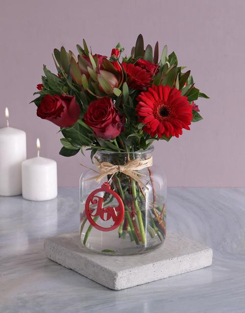christmas: Christmas Joy Flower Vase!
