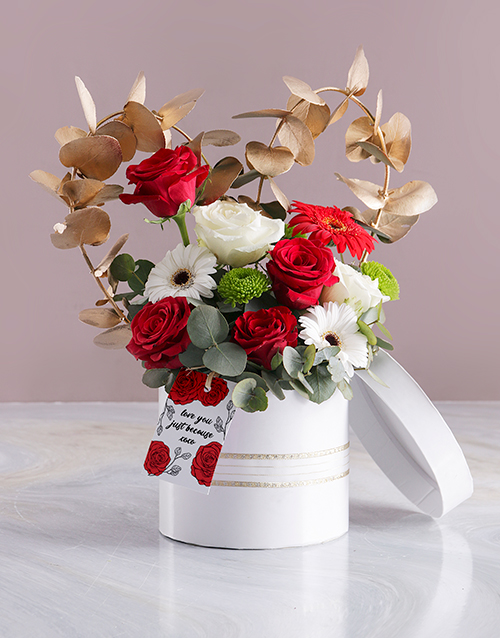 colour: Love You Array in White Hatbox!