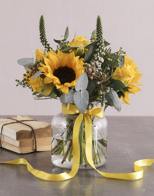birthday: Sweet and Sophisticated Sunflowers!