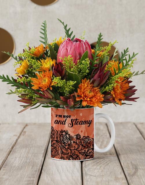 colour: Blow Me Flower Mug!