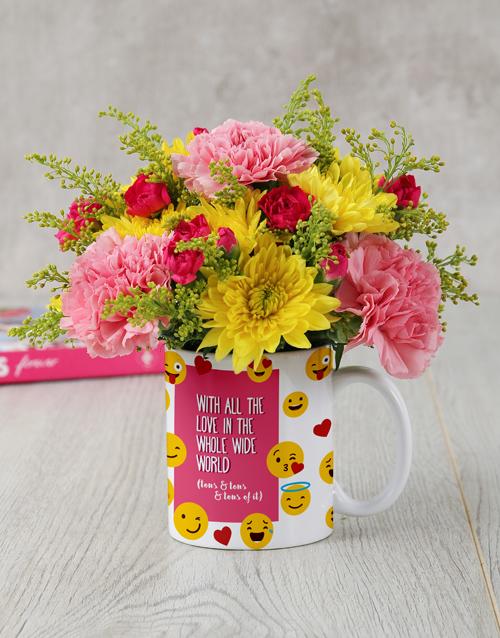 colour: All The Love Flower Mug!