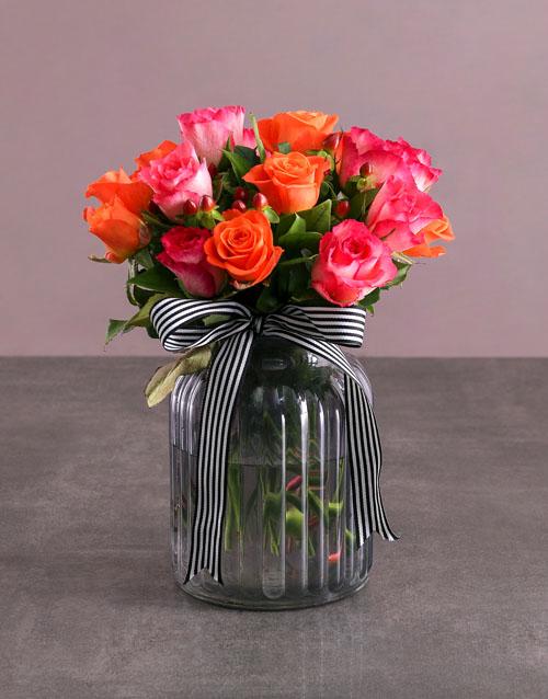 anniversary: Elegant Rose Arrangment!