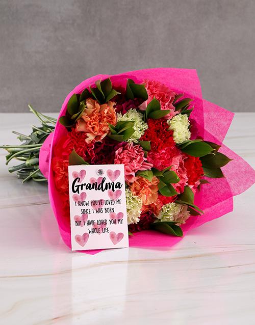 carnations: Grand Carnation Surprise Gift!
