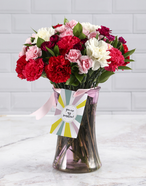 coloured-vases: Thinking Of You Mixed Bouquet!