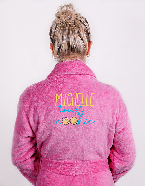 bath-and-body: Personalised Tough Cookie Cerise Gown!