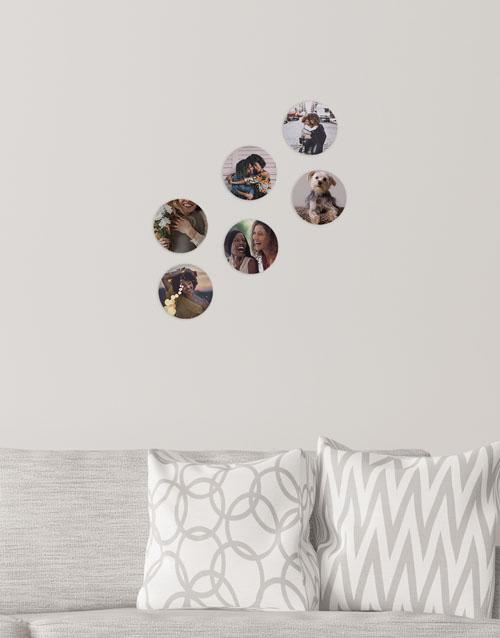 christmas: Personalised Circle Multi Photo Blocks!