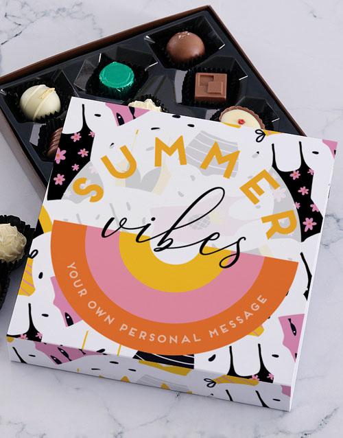 personalised: Personalised Summer Treat Chocolate Tray!