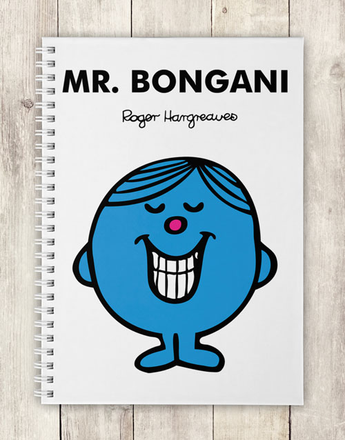 gifts: Personalised Mr Perfect Notebook!