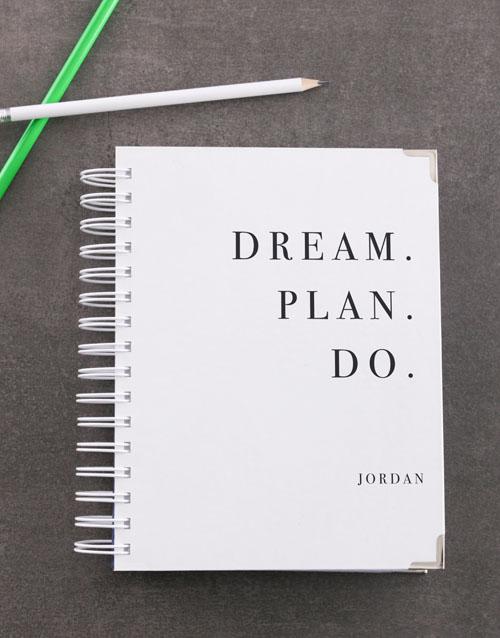 bosses-day: Personalised Dream Diary!